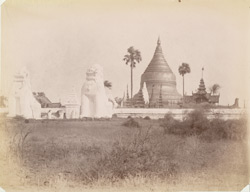 Shwezigon Pagoda at Pagan